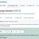 Gutenberg-PR-Link-UI-Design-Iteration