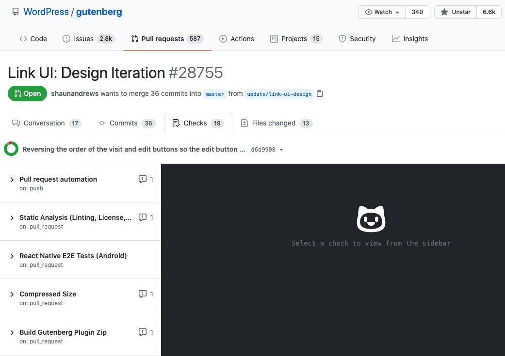 Gutenberg-PR-Link-UI-Design-Iteration-Checks-Tab